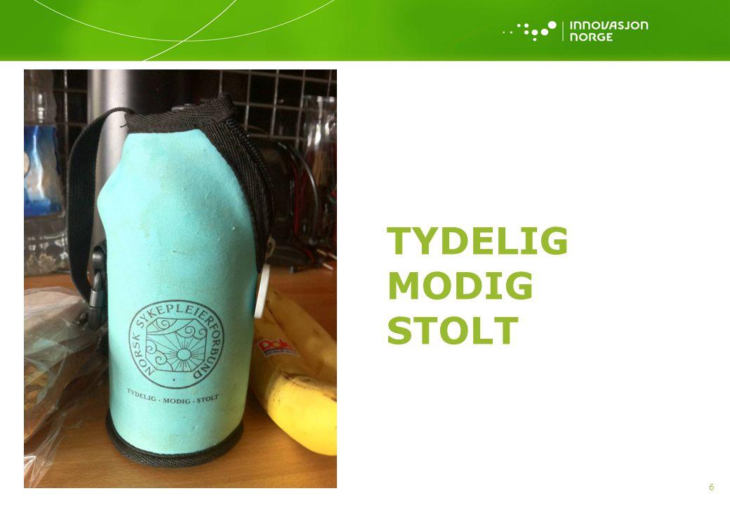 TYDELIG MODIG STOLT 6