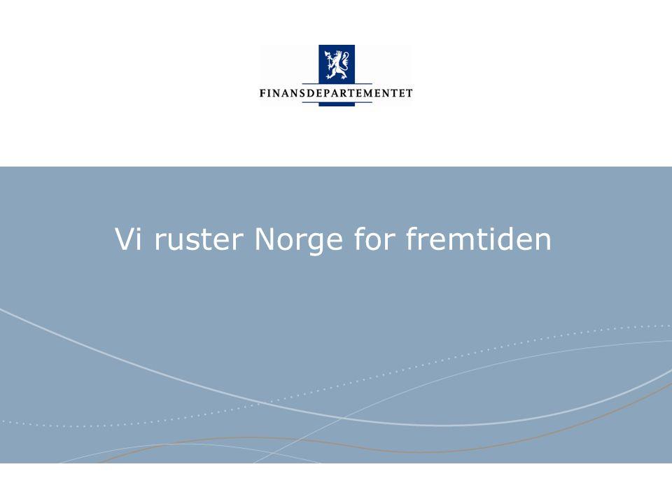 Finansdepartementet Norsk mal: Sluttside Tips bildekreditering: Alle bilder brukt i presentasjonen må krediteres for eksempel slik: Slide nr.