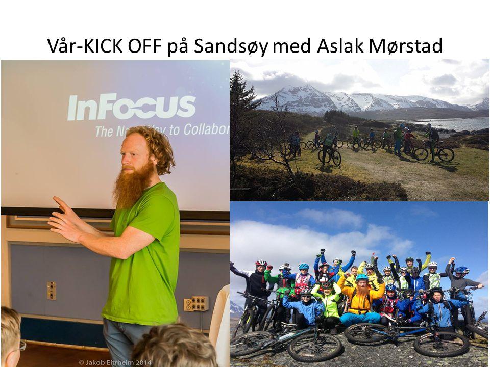 Vår-KICK OFF på Sandsøy med Aslak Mørstad