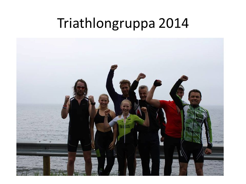 Triathlongruppa 2014