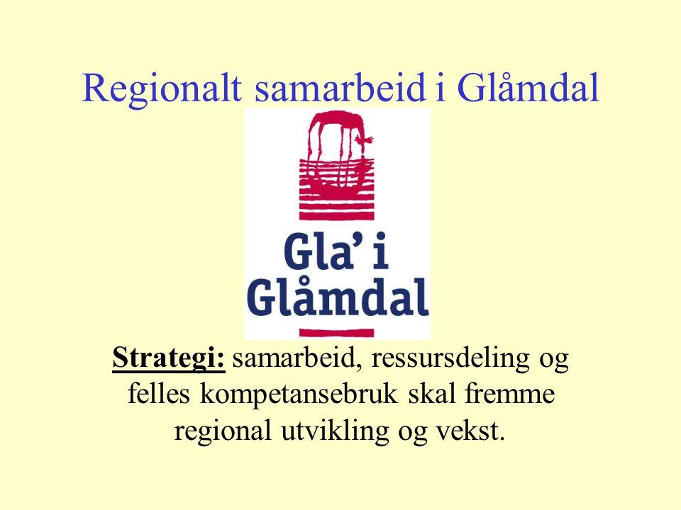 Bedre service til lavere kostnad gjennom regionalt samarbeid Program initiert av Glåmdalsregionen og Fylkesmannen i Hedmark.
