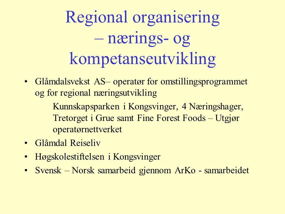 Glåmdal Regionråd – politisk samarbeidsorgan (Ref. K.G.Sanda)