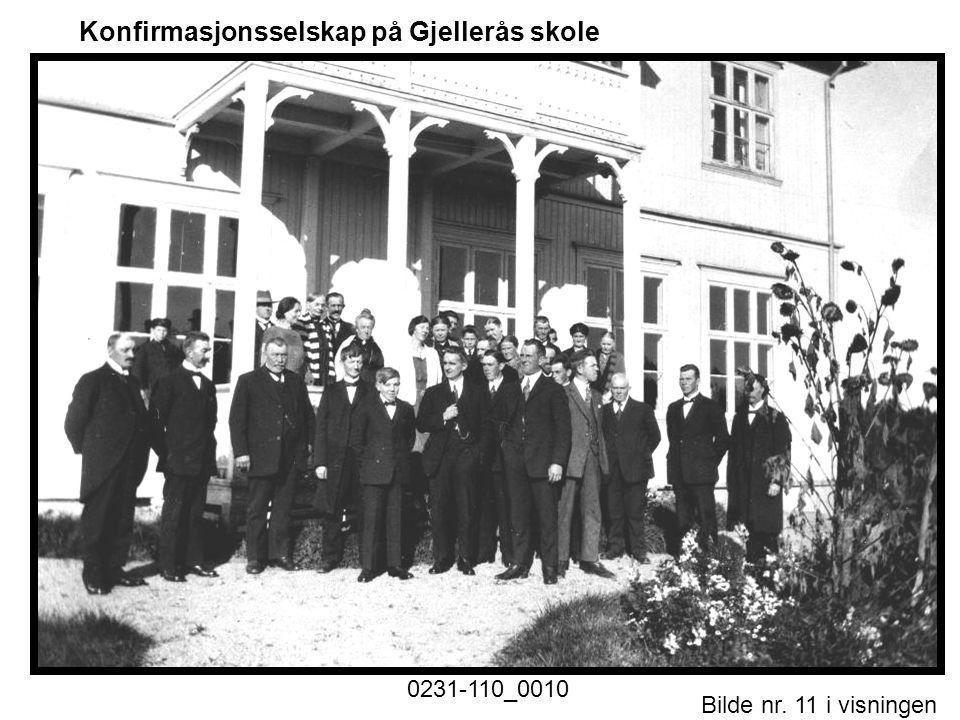 Bilde nr. 11 i visningen Side 11 Konfirmasjonsselskap på Gjellerås skole