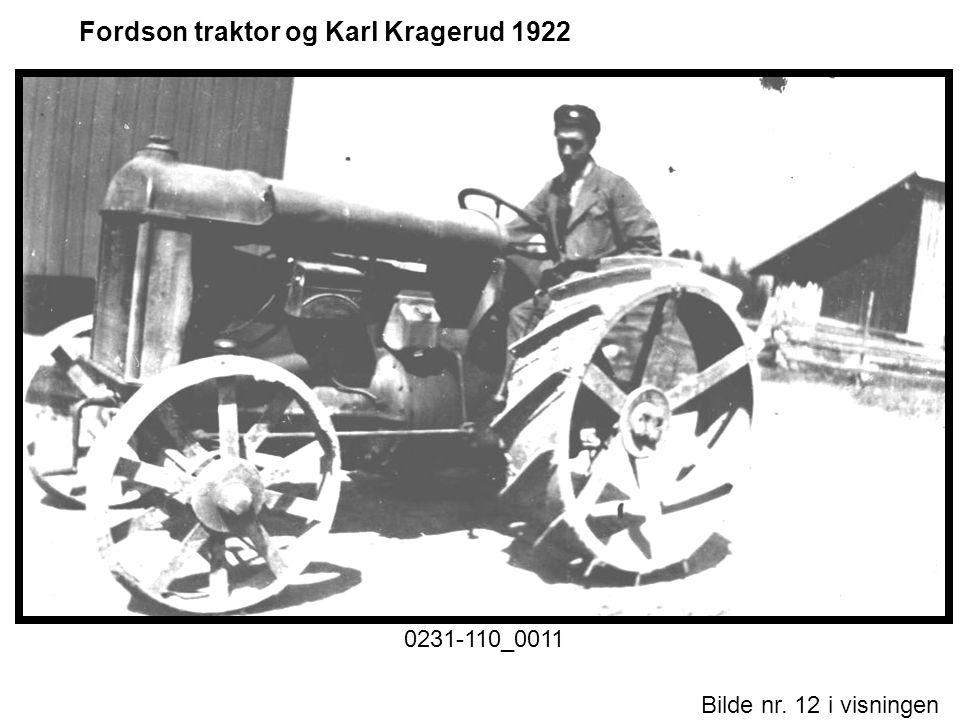 Bilde nr. 12 i visningen Side 12 Fordson traktor og Karl Kragerud 1922