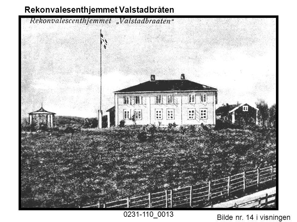 Bilde nr. 14 i visningen Side 14 Rekonvalesenthjemmet Valstadbråten