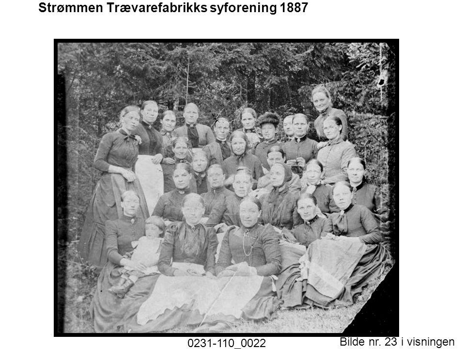 Bilde nr. 23 i visningen Side 23 Strømmen Trævarefabrikks syforening 1887