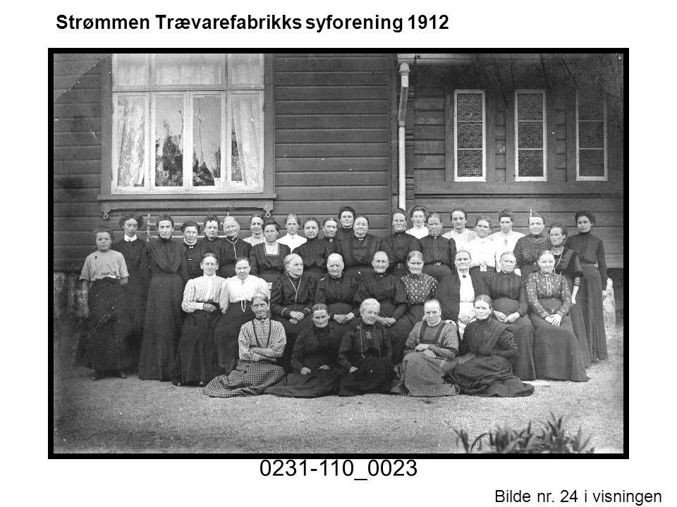 Bilde nr. 24 i visningen Side 24 Strømmen Trævarefabrikks syforening 1912