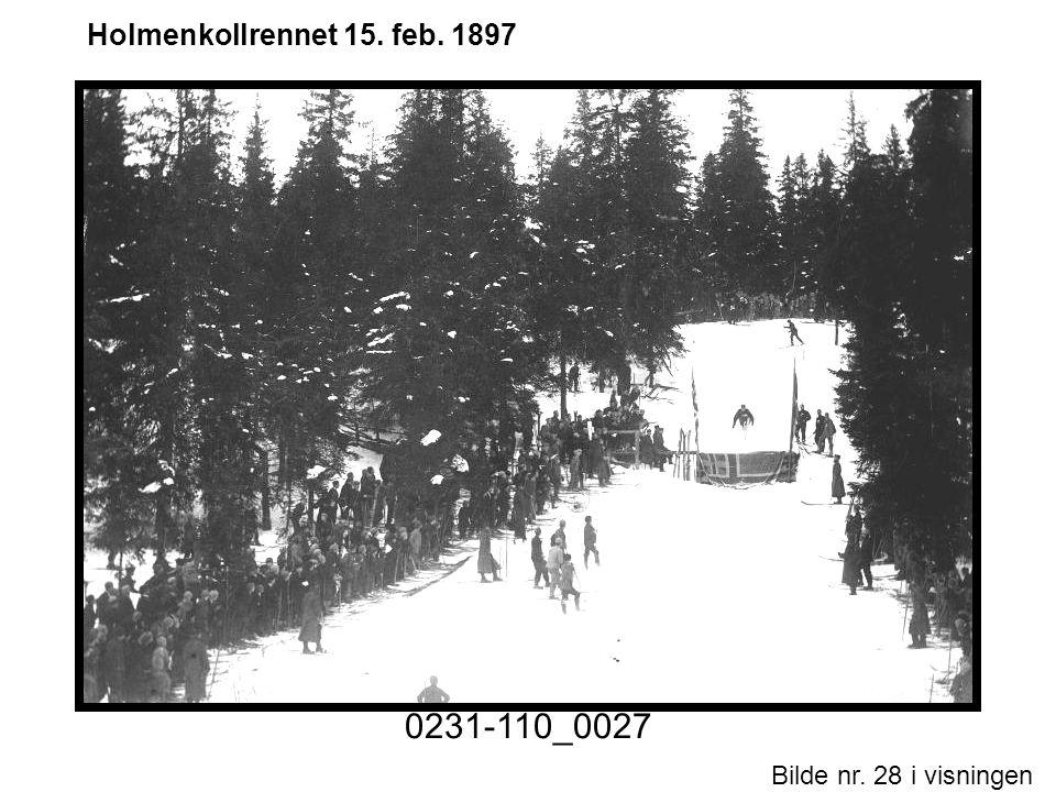 Bilde nr. 28 i visningen Side 28 Holmenkollrennet 15. feb. 1897