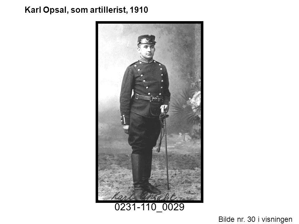Bilde nr. 30 i visningen Side 30 Karl Opsal, som artillerist, 1910