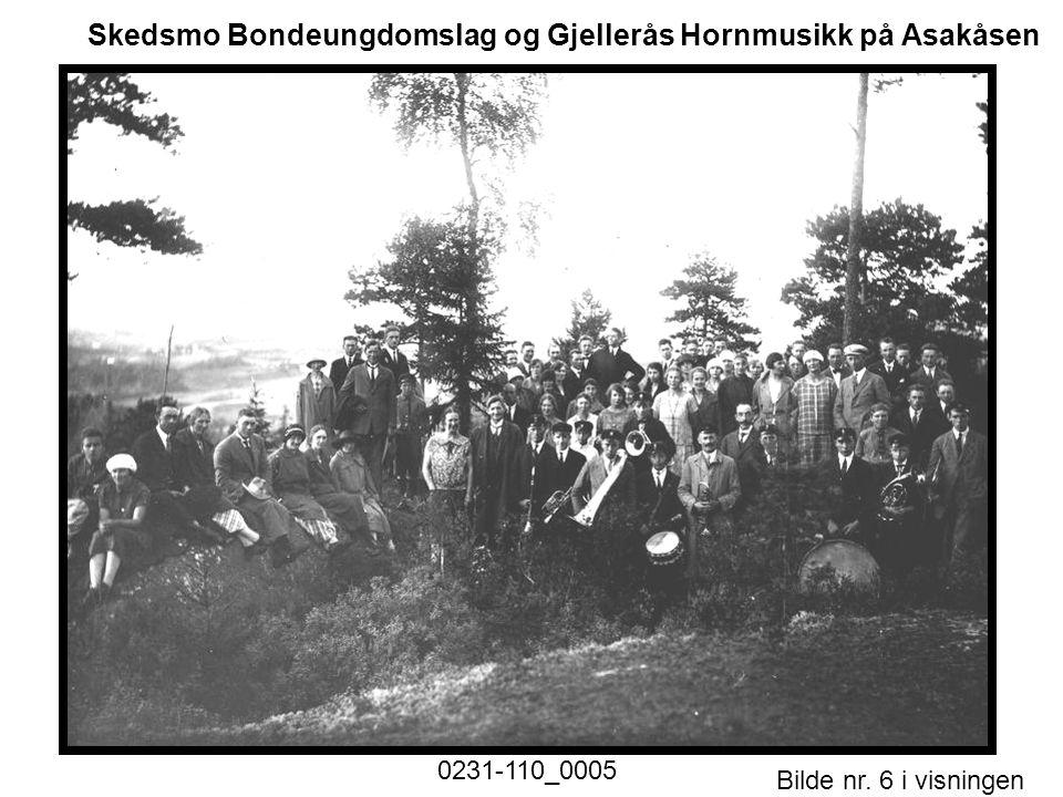 Bilde nr. 6 i visningen Side 6 Skedsmo Bondeungdomslag og Gjellerås Hornmusikk på Asakåsen