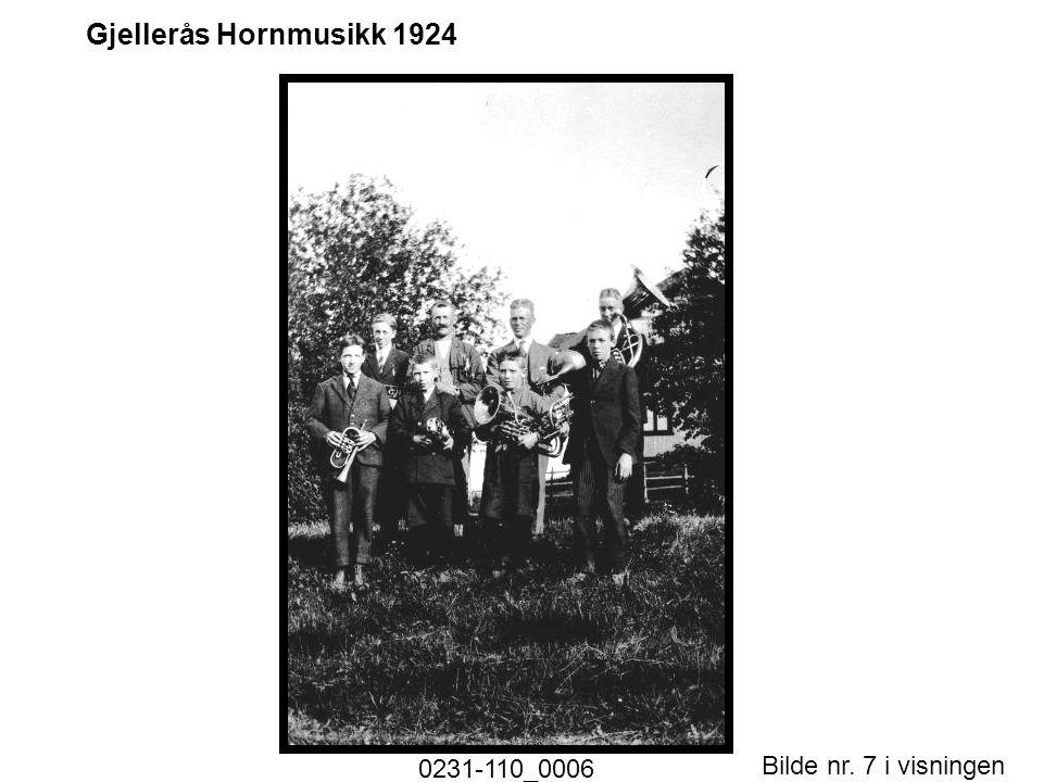 Bilde nr. 7 i visningen Side 7 Gjellerås Hornmusikk 1924