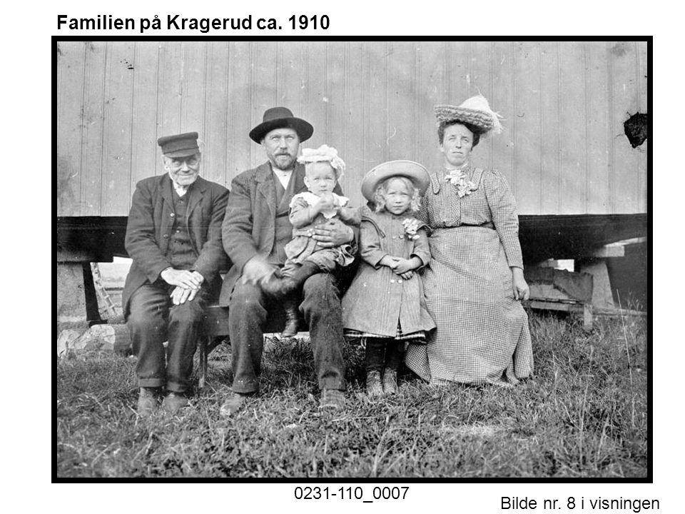 Bilde nr. 8 i visningen Side 8 Familien på Kragerud ca. 1910