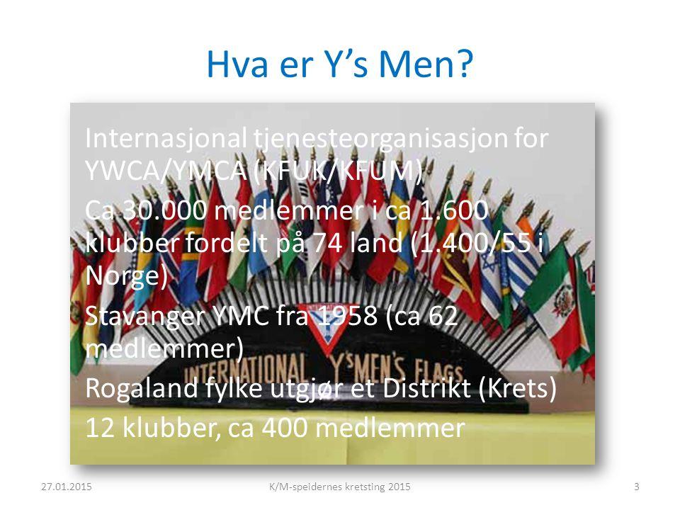 Hva er Y's Men.