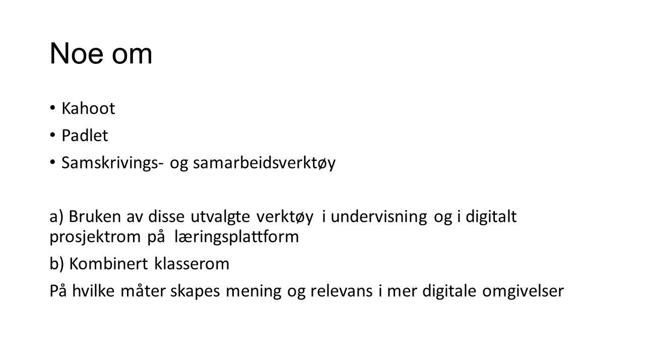 Den digitale tilstand..