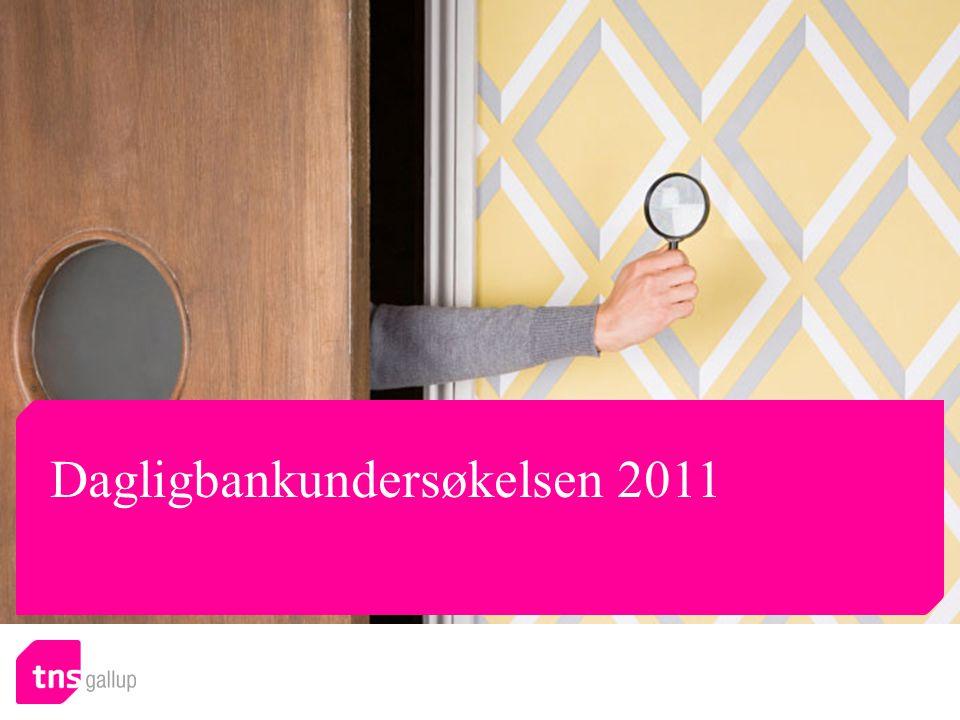 Alle n 2011 = 1004 Telefonkontakt med banken Hvorfor tar du kontakt på telefon med en bankmedarbeider.