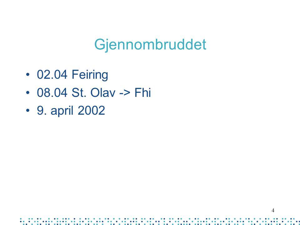 4 Gjennombruddet 02.04 Feiring 08.04 St. Olav -> Fhi 9. april 2002