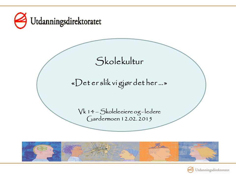 Kulturelle ytringer til nytilsatte lærere …..«Pass deg for rektor .