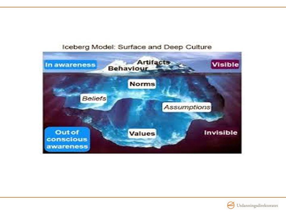 Eksisterende lærerkulturer – iflg.