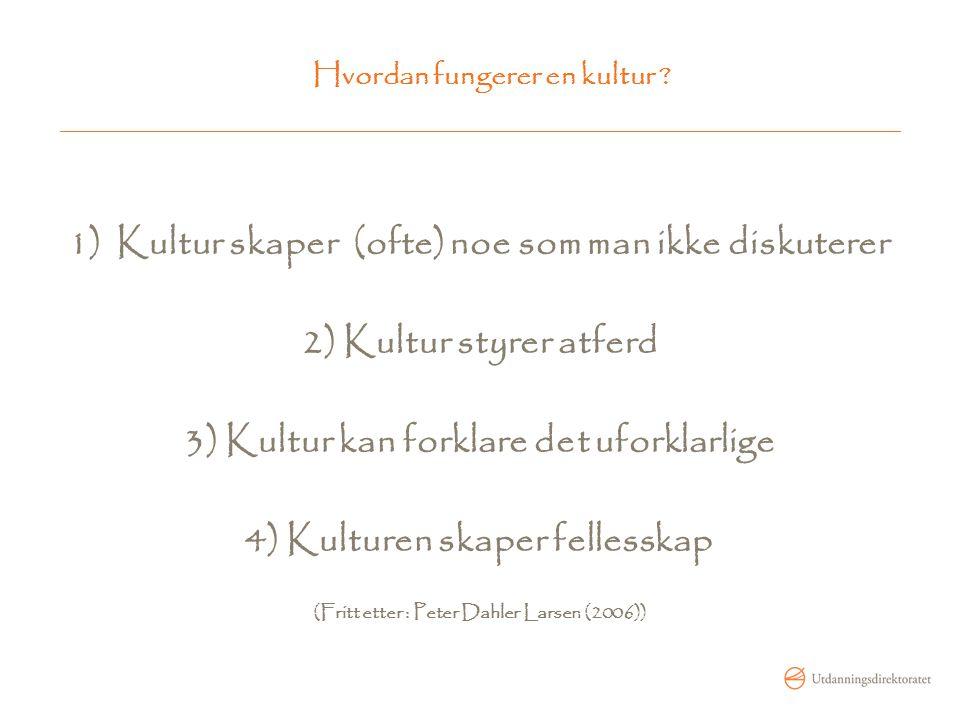 Skolekode … … en samling av tolkings- og handlingsprinsipper som er unike for hver skole.
