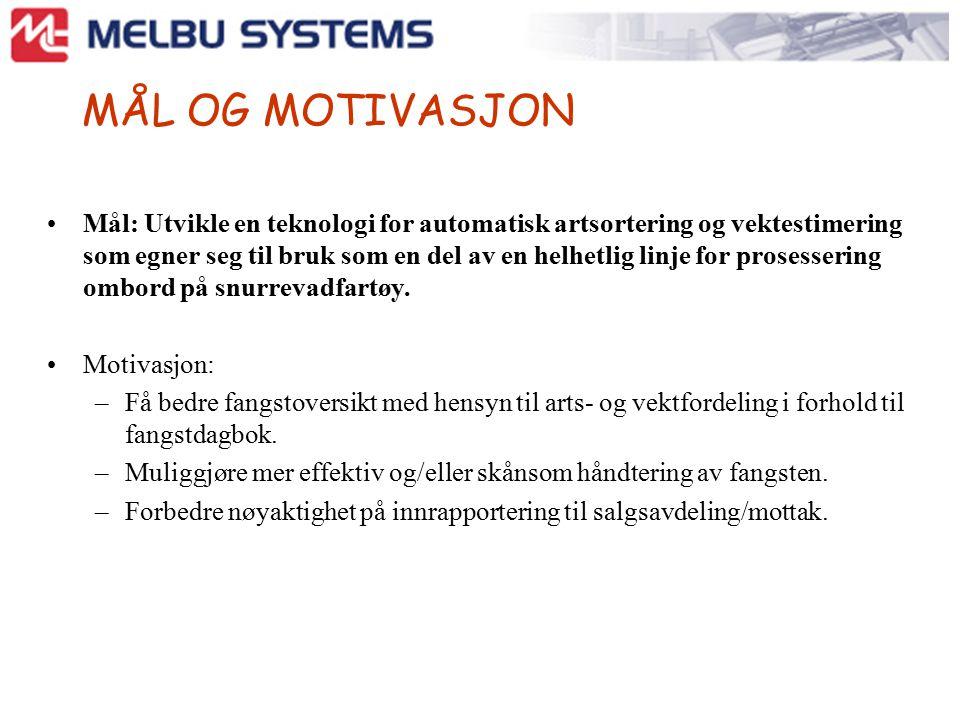 STATUS Melbu System har anskaffet utstyr Kurset 2 mann, en fra MS og en ekstern Ser på behov Gjennomført tester