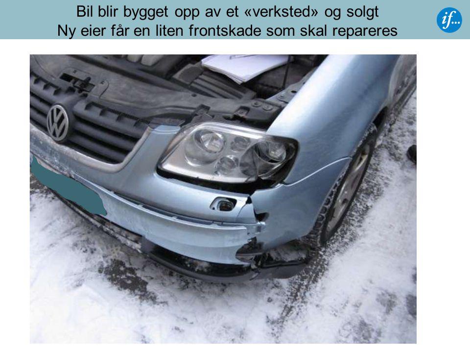 Krav til kjøper/verksted  Verkstedet skal tilfredsstille krav i gjeldende lover og forskrifter, og være godkjent av Statens vegvesen.