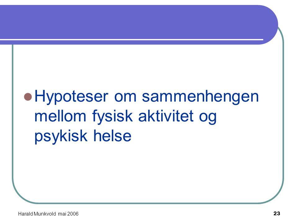 """Harald Munkvold mai 200622 """"For Jarle er det viktigst at han har fått tilbake livet sitt. For et år siden sluttet han på medisiner. Han tok et år på f"""