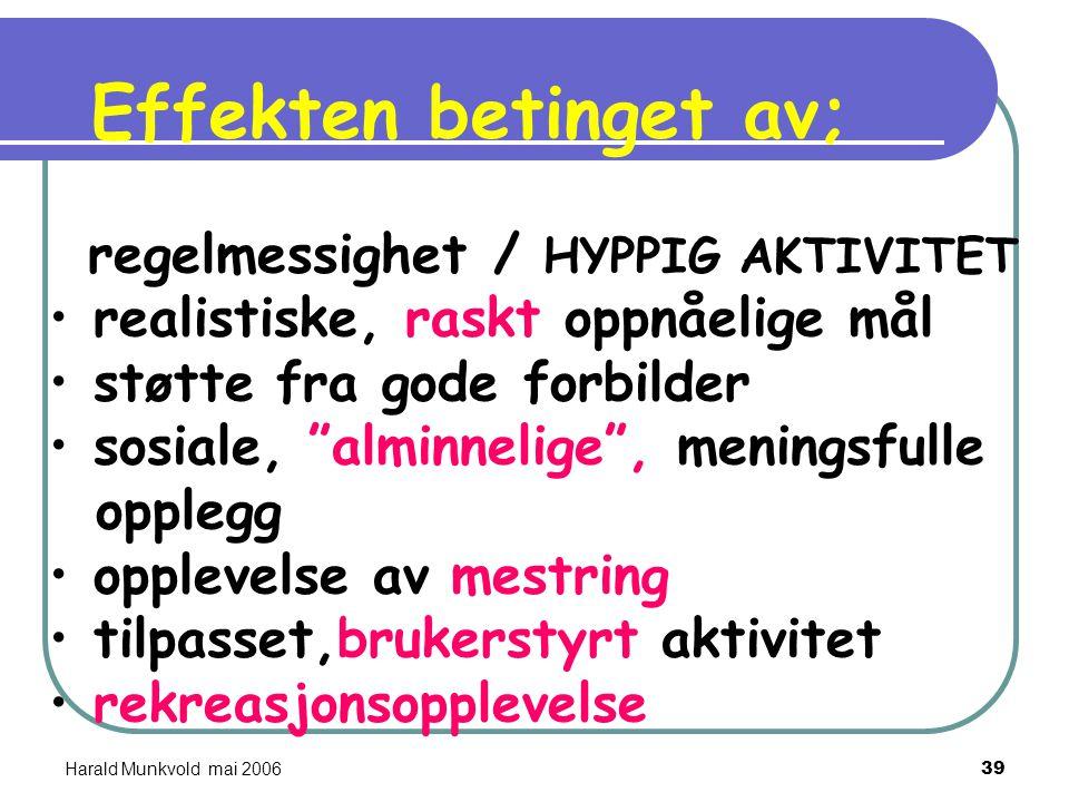 """Harald Munkvold mai 200638 Kostrubala 1976 :""""The joy of running""""  det er en viss likhet i avhengighet av løping og avhengighet av f,eks alkohol og he"""