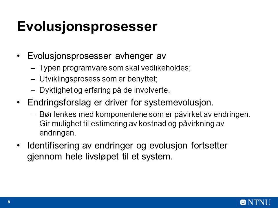 29 Faktorer benyttet i vurdering av applikasjoner FaktorSpørsmål ProgrammeringsspråkEr moderne kompilatorer tilgjengelig for det brukte programmeringsspråket.