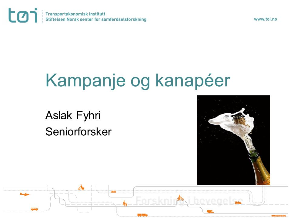 Kampanje og kanapéer Aslak Fyhri Seniorforsker