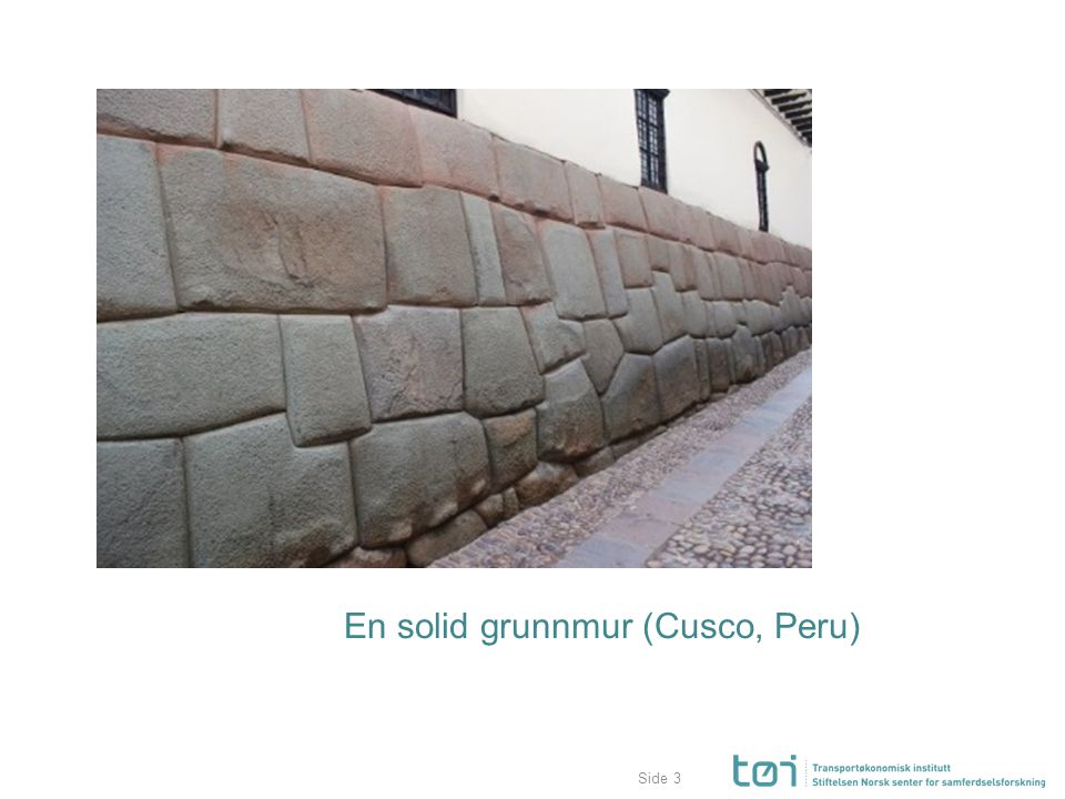 Side En solid grunnmur (Cusco, Peru) 3