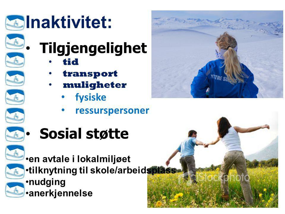 Resultater ( n=1409)  Treffer 88% MED: – Hovedaktivitet Gå, sykle, løpe HER.