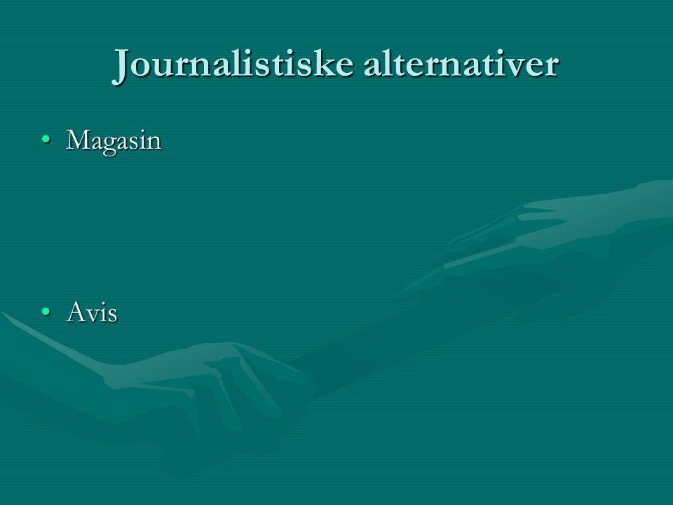 Faglitteratur på feltet Trine Østlyngen/Turid Øvrebø (1998): Journalistikk.