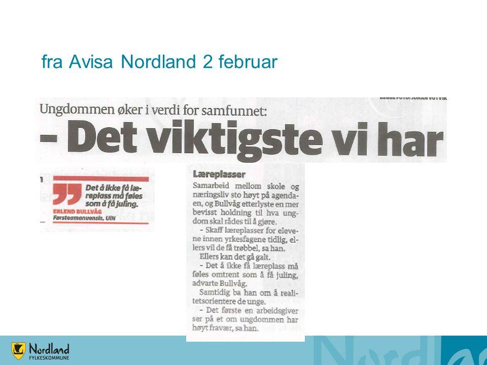 fra Avisa Nordland 2 februar