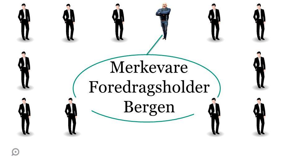 Merkevare Foredragsholder Bergen