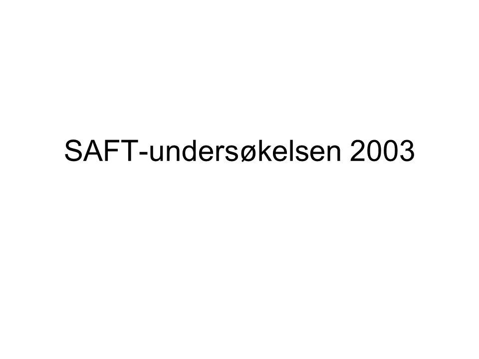 SAFT-undersøkelsen 2003