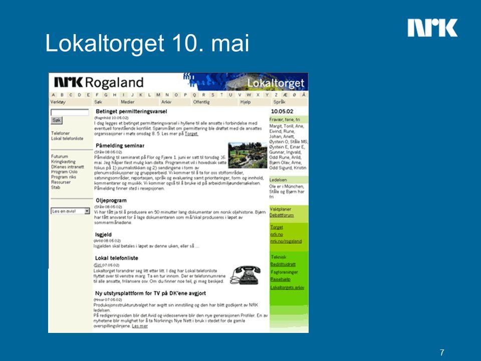 8 Ny høyre marg  Daglig oppdatering  Vaktplaner  Debattforum  Torget/nrk.no/nrk.no/rogaland  Teknisk  LAMU  Bedriftsidrett  Fagforeninger  Reisehjelp  Arkiv