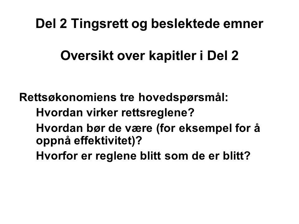 Kap 6 Overføring av rådigheter ved regulering og ekspropriasjon Hovedtema 1: Høye TK som grunn for reguleringer Hovedspørsmål –Skal en regulering gjennomføres.