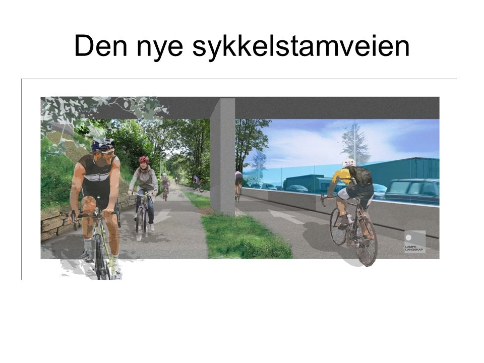 Den nye sykkelstamveien