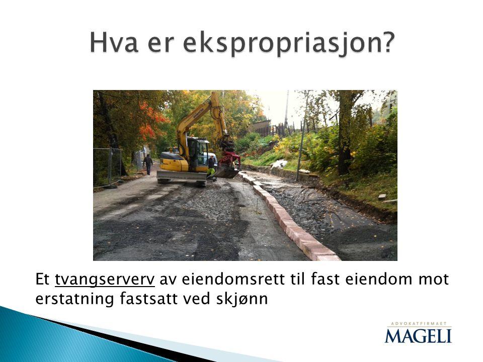  «I Vanylven kommunestyre har det vært enstemmighet med hensyn til å ekspropriere arealer i henhold til reguleringsplanen vedtatt 18.