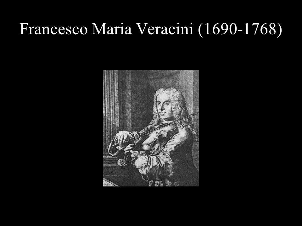 Francesco Maria Veracini (1690-1768)