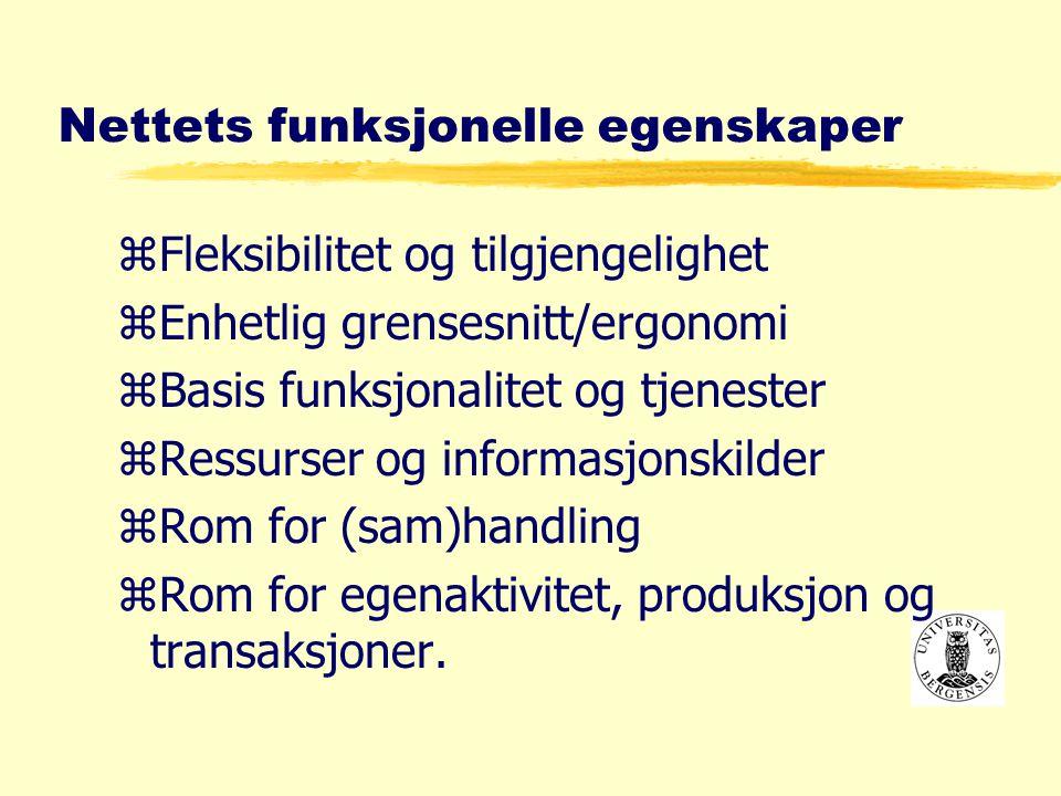 UiB problemstillinger (Havik- utvalget) yhvorledes Universitetet i Bergen skal utvikle og tilby utdanningsprogram på Internett.