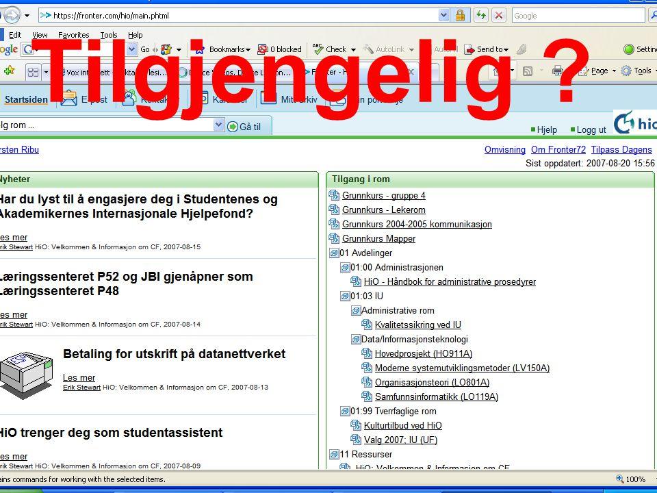 Hio 2007 Kirsten Ribu50 Tilgjengelig