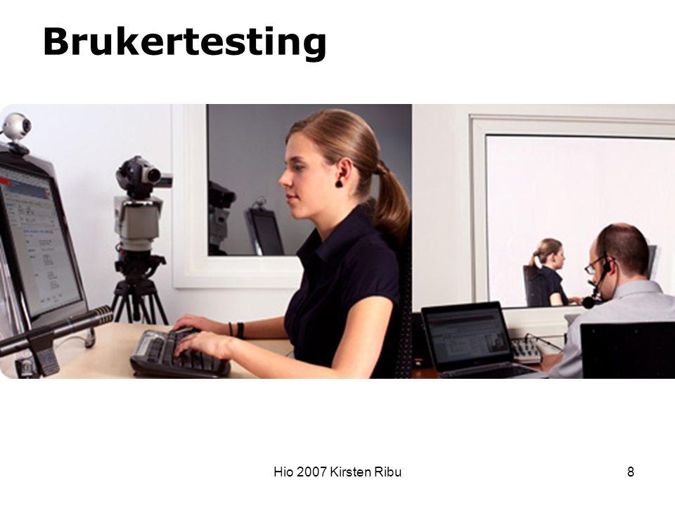 Hio 2007 Kirsten Ribu8 Brukertesting