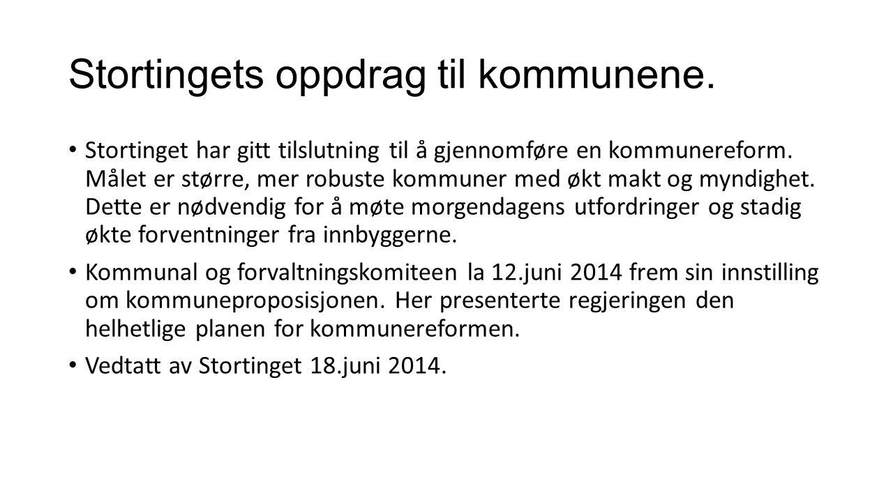 Andre føringer Det arbeides med nytt inntektssystem for kommunenorge.
