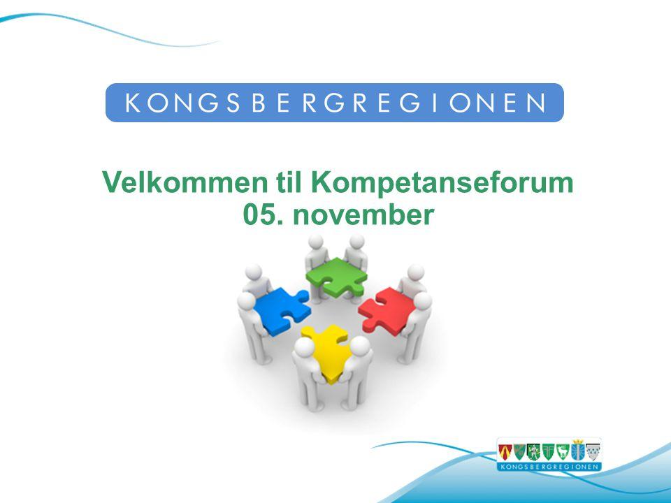 Velkommen til Kompetanseforum 05. november