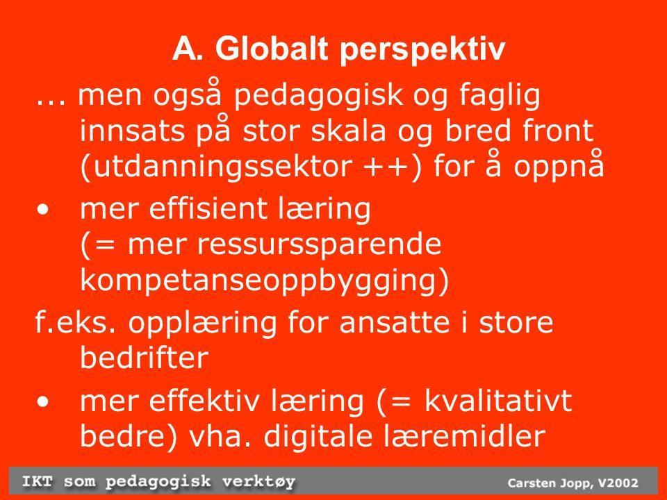 A. Globalt perspektiv...