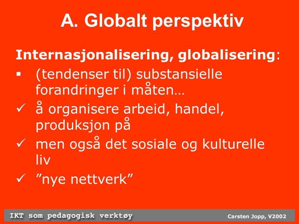 F.Studentperspektiv Hvorfor 'IKT som ped. verktøy'??.