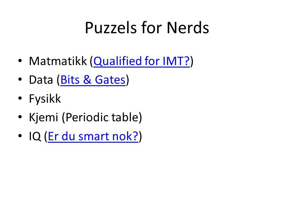 Standard puzzels Sudoku – Tromsø Sudoku puzzel Tromsø Sudoku puzzel – Mystery S@M#05 Mystery S@M#05 Nonogram (Nonogram puzzel)Nonogram puzzel
