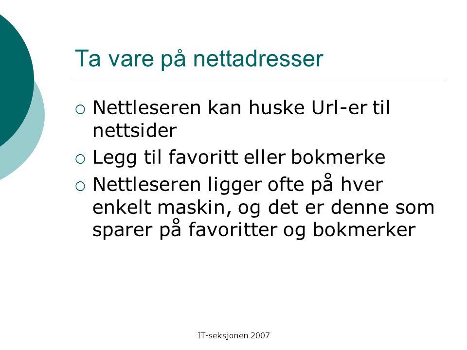"""IT-seksjonen 2007 Søkealgebra - Kvasir  Ett søkeord: Heyerdahl  Flere søkeord: thor heyerdahl  +: +Thor +Heyerdahl  -: Heyerdahl -skole  """" """": """"Th"""