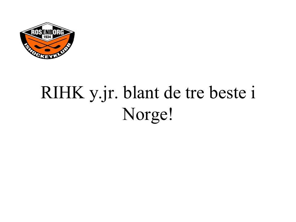 RIHK y.jr. blant de tre beste i Norge!